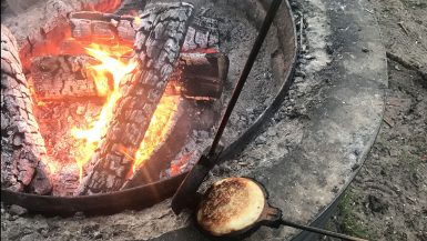 How to make a campfire pie