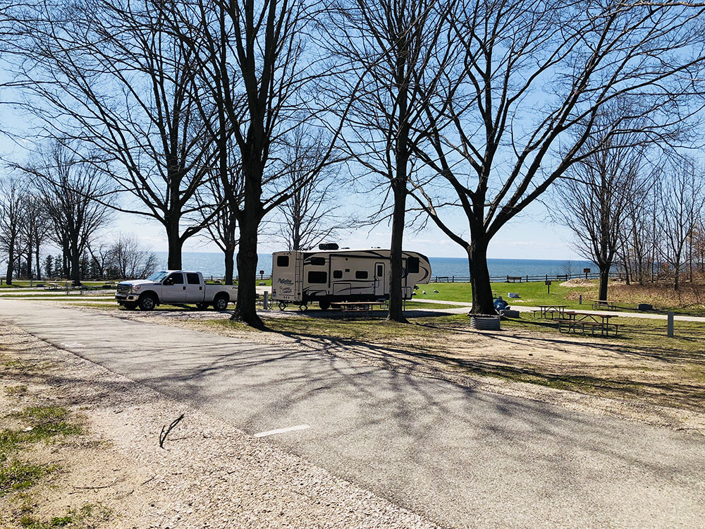 Orchard Beach State Park Campground