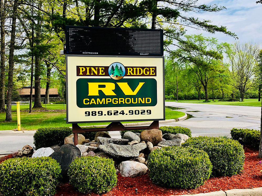 Pine Ridge Rv Campground Review Camp The Mitten